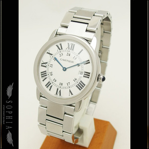 Cartier (Cartier) Rondo Solo Watch Lm Quartz Mens Watches