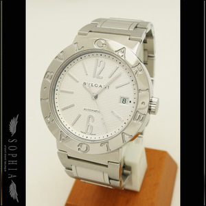 Bvlgari Bb 38ss White Dial Watch Automatic Wrist