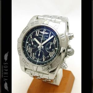 Breitling (Breitling) Chrono Mat 44 Black Roman Dial Watch