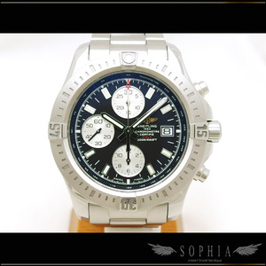 Breitling (Breitling) Colt Chronograph Automatic Black Case Watch Wrist