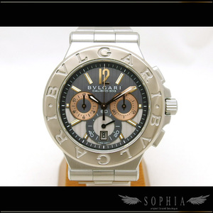 Bvlgari Diagono Cariblo 303 Chronograph Wgxss Watch