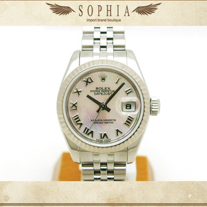 Rolex (Rolex) Datejust 179174nr Roman Shell Wrist Watch