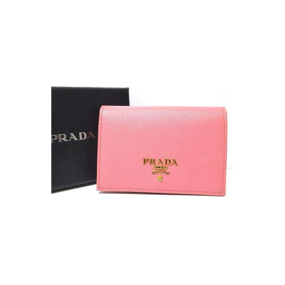 eLADY GLOBAZONE | Prada Safiano Leather 1m0945 Machi Equipped Card ...