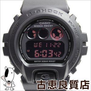 Casio Overseas Watch Dw-6900ms-1 Men's G-shock Matt Black Red Eye Mat Used