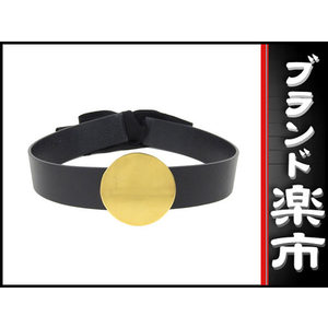 Celine Leather Belt Gold Buckle