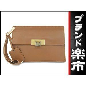 Alenciaga Balenciaga Leather Second Bag Brown 332241