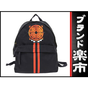 Givenchy Nylon Backpack Black × Red Bag