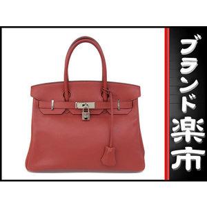 Hermes Birkin 30 Swift Vermilion □ K Engraved Bag