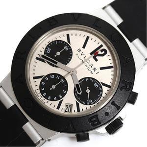 Bvlgari Aluminum Chronograph Ac 38ta Automatic Men's Watch