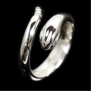 Tiffany & Co Snake Ring Sv925 Ladies About No. 9 Jewelry Finished