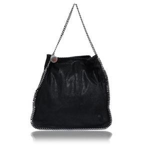 Stella McCartney Stella · Mccartney M Ccartney Farabella Shaggy Deer Shoulder Bag 326238 Black Ladies'