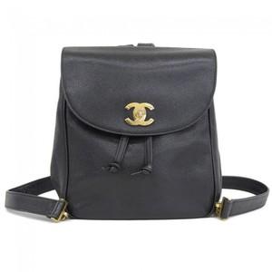 Chanel Caviar Leather Daypack Black