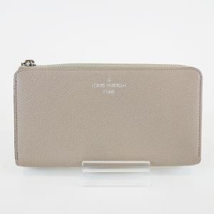 Louis Vuitton M60147 Galle Porto Foyu Comet Vaud Casimir Leather L Letter Zipper Long Wallet