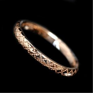 Gucci Diamantissima Japan Limited Ring 284899 K18pg Men's Jewelry Finished