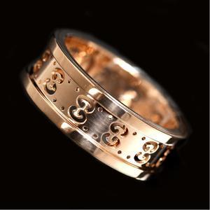 Gucci Icon Ring K18pg Women's No. 12 Jewelry Accessories