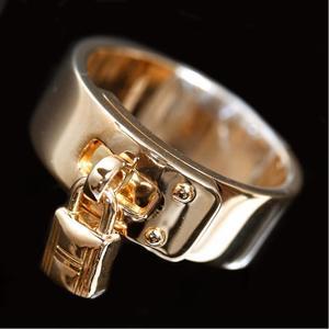 Hermes Cadena Ring K18yg Ladies 53 Jewelry