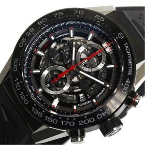 Tag Heuer Carrera Caliber 01 Chronograph Car 2 A 1 Z Automatic Skeleton Men's Watch