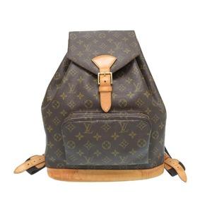 Louis Vuitton Monogram Montsuris Gm M51135 Backpack Bag Lv 0210