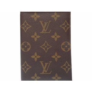Louis Vuitton Couvertur Passpas Pass Case M60181 Monogram Notebook Cover Lv 0098