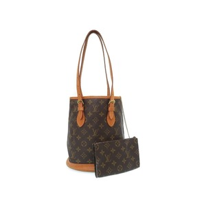 Louis Vuitton Monogram Bucket Pm M42238 Shoulder Bag With Pouch Lv 0194