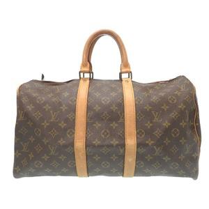 Louis Vuitton Monogram Keypol 45 M41428 Boston Bag Lv 0431