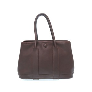 Hermes Garden Party Ttpm Havana Vau Swift □ I Engraved (Made In 2005) Handbag Bag Women's 0204