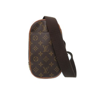 Louis Vuitton Monogram Pochette Ganju M51870 Shoulder Waist Bag 0220
