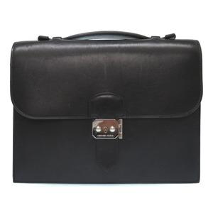 Hermès Suck A Depeche 27 Box Calf Black Second Bag □ H Engraved (Made In 2004) 0510 Hermes Men's