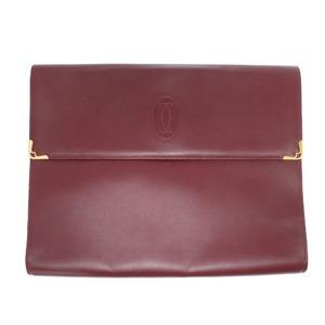 Cartier Mast Briefcase Document Bags Clutch Bag 0237 Cartier