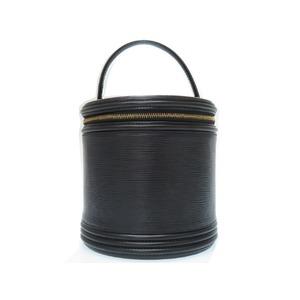 Louis Vuitton Epi Cannes Handbag M48032 Black 0217 Louisvuitton Bag