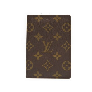 Louis Vuitton Monogram Passport Case Notebook Cover M60179 Lv 0008