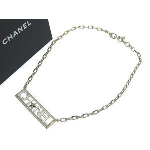 Chanel Rhinestone Coco Mark Gold 17c Choker Ladies' Accessory 0533 Chanel