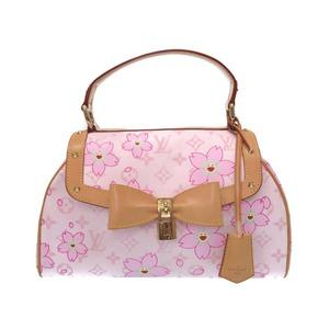 Louis Vuitton Monogram Cherry Blossom Sac Retro Pm M92013 Handbag Bag Lv 0108