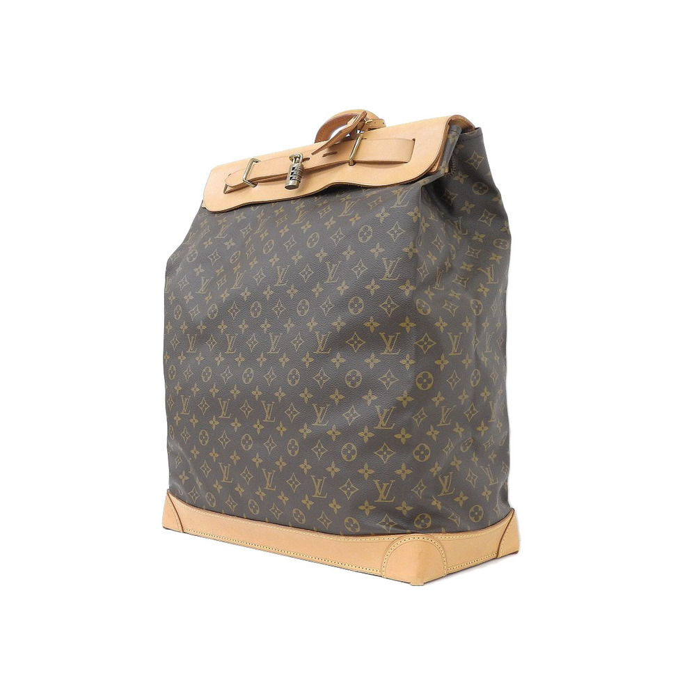 louisvuitton louis vuitton steamer bag 45 monogram travel boston m 41126