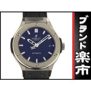Hublot Hublot Classic Fusion Titanium Automatic Watch 565.nx.1171.lr Black Type Clock