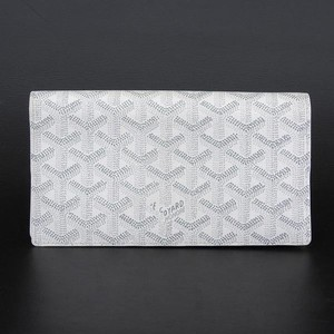 Goyar Goyard Signature Wallet Folding White Mwalrhb00026