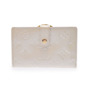 Used Louis Vuitton Vernis Wallet Perl M91973 ◇