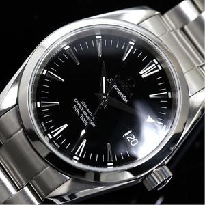 Omega Seamaster Aqua Terra 2504.50 Co-axial Black Men's Watch Finished