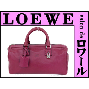Loewe 2 Way Hand Shoulder Bag Pink