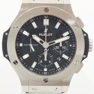 Hublot 301.sx.1170.rx Big Bang Chrono At Ss Rubber Belt Men's Watch