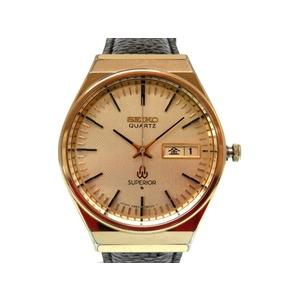 Seiko Superior 4883 - 8000 Day Date Antique Men Quartz Wrist Watch 0366