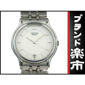 Seiko Credor Mens Quartz Wrist Watch 8j86-6a00 White Dial