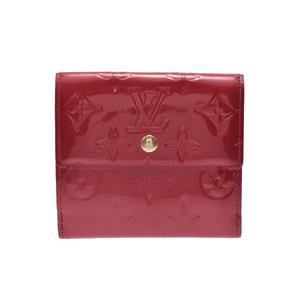 ルイ・ヴィトン(Louis Vuitton) 中古 ルイヴィトン ヴェルニ Wホック財布 ポムダムール M93529 LOUIS VUITTON