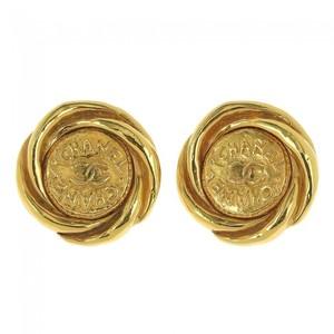 Chanel Coco Mark × Logo Earrings