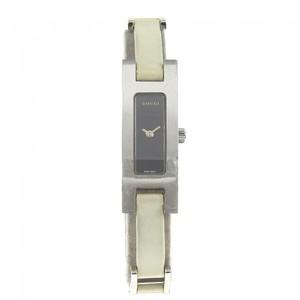 Gucci 3900l White × Silver? _ Breath Wrist Watch