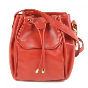 Dior Leather Drawstring Shoulder Bag