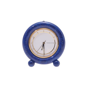 Used Tiffany Clocks Lapis Lazuli Antique & Co ◇