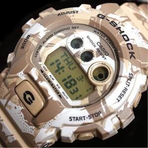 Casio G Shock G-shock Camouflage Series Gd-x6900mc-5jr Desert Camo Quartz Men's Watch Super Beauty Item