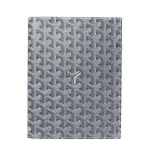 Goyar Goyard Agenda Book Cover Gray Notebook With Refill Women's Men