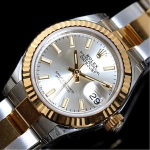 ロレックス ROLEX  デイトジャスト  279173 自動巻き K18SS シルバー ルーレット ランダム レディース 腕時計